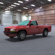 1997 Dodge Dakota Pick-up 3D Model | CGTrader