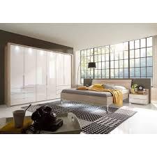 wiemann loft schlafzimmer 3 türig eiche sägerau glas weiß