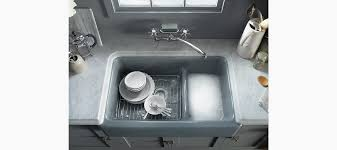 Self Trimming Apron Front Sink by Standard Plumbing Supply Product Kohler K 6427 Ka Whitehaven