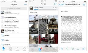 Dropbox updates app with AirDrop support iOS 7 inspired redesign