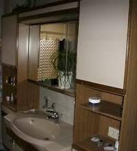 komplettes gebrauchtes badezimmer