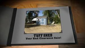 Home Depot Tuff Shed Commercial by Tuff Shed Year End Clearance Sale U0027changing Weather U0027 Ispot Tv