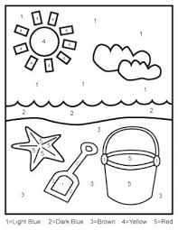Color By Addition Worksheets Kindergarten Free Coloring Pages Free