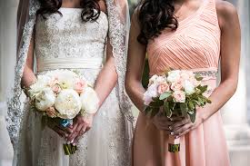Peach Rustic Glam Wedding
