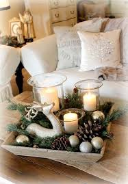 Dining Room Table Decorating Ideas by Charming Easy Christmas Table Decorations Ideas 17 With Additional