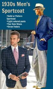 1930s Mens Sportcoat Style