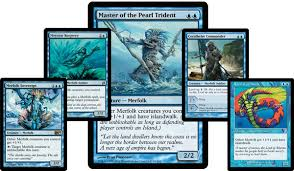 mtg merfolk deck legacy m13 exclusive preview master of the pearl trident by frank