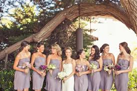 Mauve Bridesmaid Dresses Fall Wedding Colors