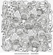 Winter Magic Coloring Book Pages