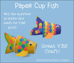 Paper Cup Fish Craft For VBS