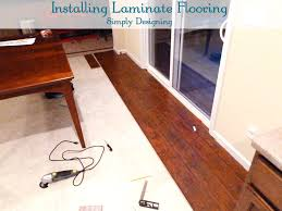 Cut Laminate Flooring With Miter Saw by How To Install Floating Laminate Wood Flooring Part 2 The