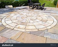 outdoor floor tile garden landscaping with fashion front