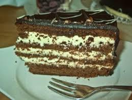 schoko vanille creme torte