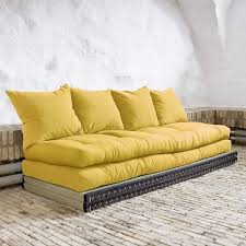 achat canapé convertible convertible nara 70 futons amarillo tatamis 70 achat vente