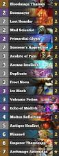 Malygos Deck July 2017 by R Wildhearthstone Meta Tierlist May 2017 Competitivehs