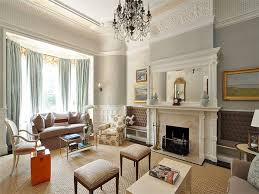 Renovated Formal Living Room With Stunning Victorian esque Details