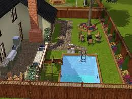 Sims 3 Ps3 Kitchen Ideas by Sims 3 Backyard Ideas Outdoor Furniture Design And Ideas