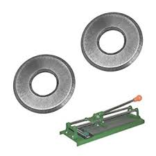 hdx tile cutter wheel 2pc 1 2 tungsten carbide replacement scoring wheel blade for