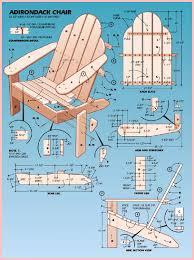 Pallet Adirondack Chair Plans by Diy Adirondack Chairs Plans Patterns Wooden Pdf Deck Bench Design
