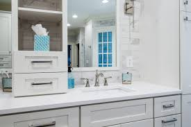 Sears Shoal Creek Dresser by Before Black Cabinets With Marble Countertops Ceramic Tile Floor
