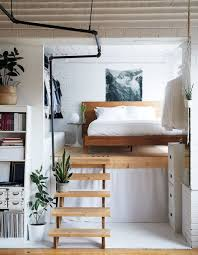 a book filled loft in toronto a cup of jo schlafzimmer