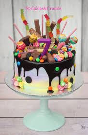 Cakes Decorated With Sweets by Easy Chocolate Birthday Cake Recipe Birthday Cake Decorating