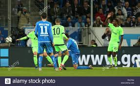 Matthias Musche Goalkeeper Silvio Heinevetter Sport Stock Photo
