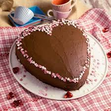 schokotorte muttertag valentinstag kuchen herzform kuchen