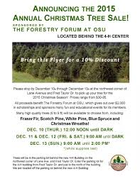 Fraser Fir Christmas Trees For Sale by Forestry Forum Christmas Tree Sale Chadwick Arboretum U0026 Learning
