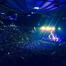Madison Square Garden section 208 row 5 seat 6 Keith Urban