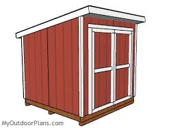 8x8 lean to shed plans outdoor shed plans free pinterest car