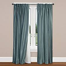 Bed Bath And Beyond Pink Sheer Curtains by Smartblock Rod Pocket Insulating Blackout Curtain Liner Bed