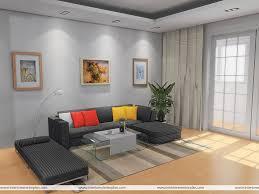 Interior Exterior Plan Simple Uncluttered Living Room Design