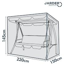 Garden Swing Seat Cover Dimensions