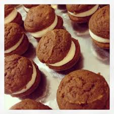 Pumpkin Whoopie Pie Recipe Spice Cake by Pumpkin Whoopie Pies With Maple Cream Cheese Filling The Dough