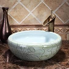 tnr chinesische antike tischplatte kunst badezimmer