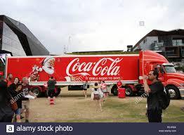 Coca Cola And Salvation Army Truck At Tumbalong Park, Darling ...