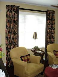 Dining Room With Curtain Decorating Ideas Swag Curtains For Window Bay Windows In