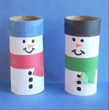 Christmas Crafts Toilet Paper Roll
