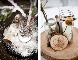 Use Rustic Winter Decorations
