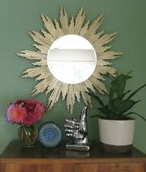 1 Sunburst Mirror A Bit Lengthy But The Best Of 3 DIY Home Decor Projects On Budget