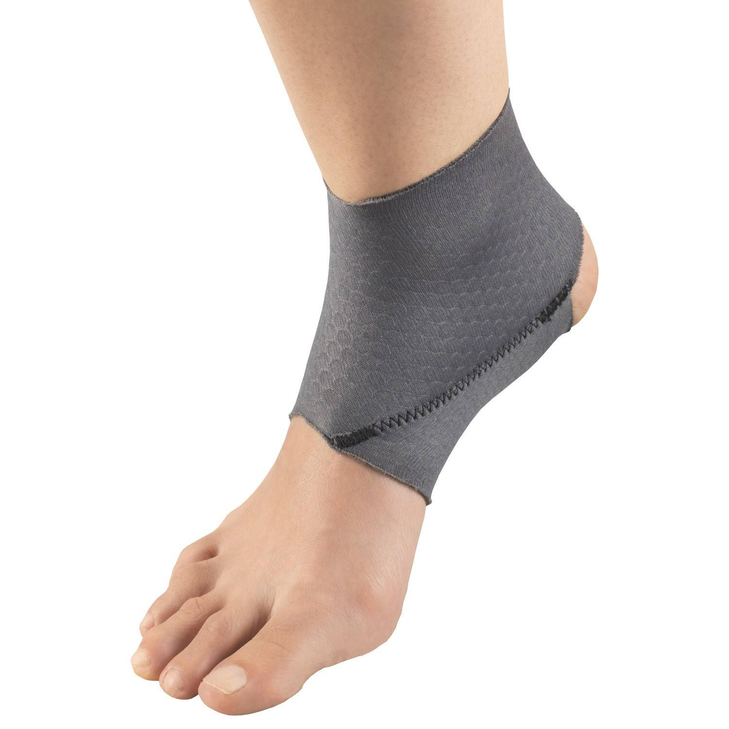 Champion Ankle Brace - Adjustable Support, Airmesh Grey Fabric