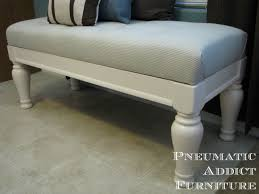 Ana White Headboard Bench by Ana White Tufted Upholstered Benches Diy Projects