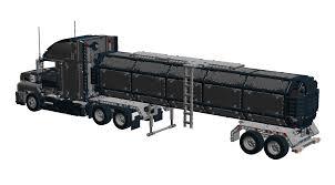 100 Lego Tanker Truck Mack S Railroad Car Technic Semitrailer Truck 1600883