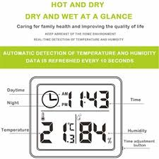 esplic digitales thermometer hygrometer temperatur
