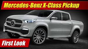100 Mercedes Benz Pickup Truck First Look XClass TestDrivenTV