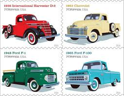 MEMORABILIA: Post Office To Honor Pickup Trucks With Forever Stamps ...