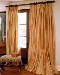 Burlington Coat Factory Sheer Curtains by Double Bordered Silk Curtains Drapes Archives Drapestyle