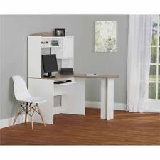 Mainstays L Shaped Desk With Hutch by Alder Desks And Home Office Furniture Ebay