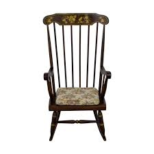 90% OFF - Wood Floral And Fruit Painted Rocking Chair / Chairs Sale Vintage Folk Art Rocking Chair Pa Dutch Handpainted Black Dollhouse Doll Fniture Painted Blue White Chalk Paint Decor Ideas Design Newest Hand Painted Peacock Rocking Chair Nursery Fniture Queen B Studios Wikipedia Danish Mid Century Solid Wood Vintage Rocking Chair Secohand Pursuit Antique Rocker As Seasonal Quilt From Whimsikatz Upcycled Hand Cacti Motif Retro School Herconsa Childrens Hand Painted Shrek